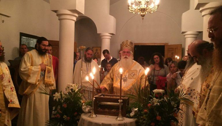 Λήξη του Ιεραποστολικού έτους με Θεομητορική Αγρυπνία στην I. Μ. Δημητριάδος (ΦΩΤΟ)