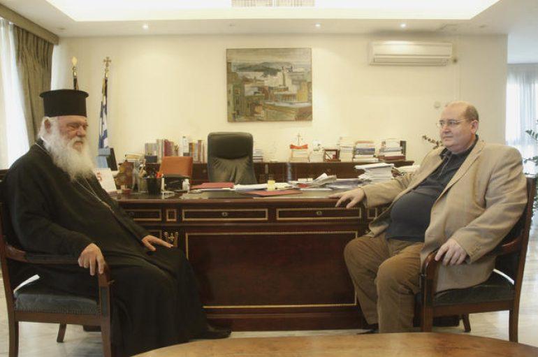 Η «απάντηση» του Αρχιεπισκόπου Αθηνών στον Φίλη περί κατοχής και χούντας