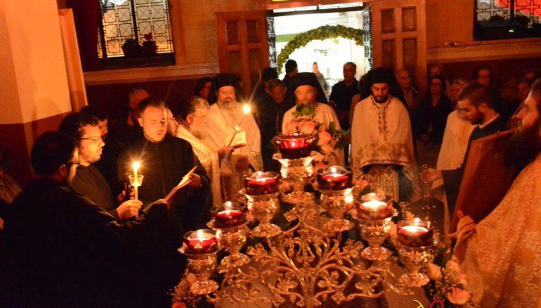 Ιερά Αγρυπνία στον Ι. Ν. Νεομάρτυρος Παύλου Τρίπολης (ΦΩΤΟ)