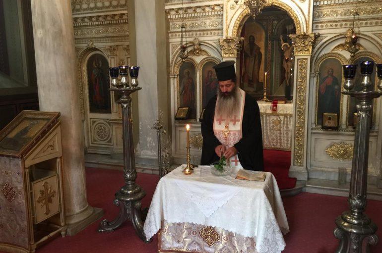 Αγιασμός επί τη αρχή της Ινδίκτου στο Αρχιεπισκοπικό Παρεκκλήσιο (ΦΩΤΟ)