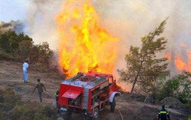 Πυρκαγιά στην ευρύτερη περιοχή της Ι. Μ. Χιλανδαρίου στο Άγιο Όρος