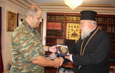 Επίσκεψη του Διοικητή της VIII Ταξιαρχίας στον Μητροπολίτη Κερκύρας (ΦΩΤΟ)