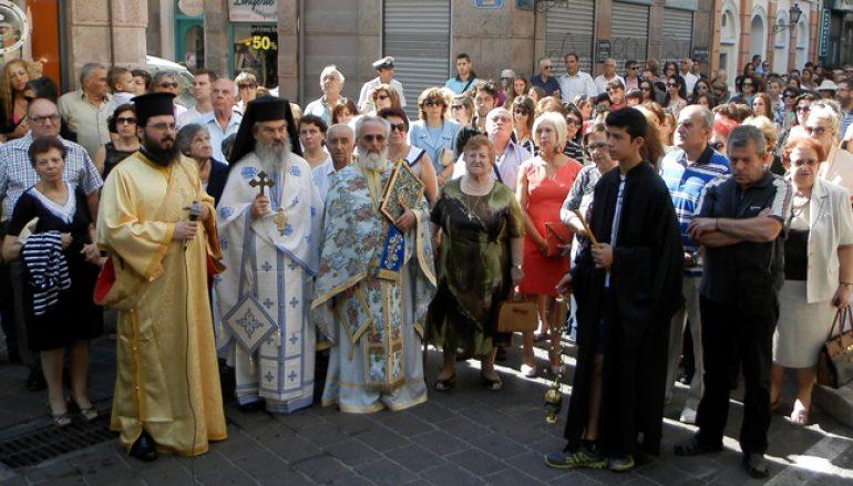 Η εορτή της Παναγίας Βηματάρισσας στη Μυτιλήνη (ΦΩΤΟ)