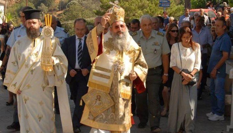 Πανήγυρη της Ι. Μονής Παναγίας Αντιφωνητρίας Μυριοκεφάλων (ΦΩΤΟ)