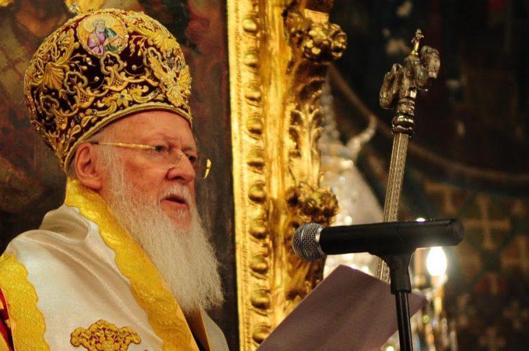 Πατριαρχική Εγκύκλιος επί το Νέον Ενιαυτόν της Χρηστότητος του Κυρίου 2016