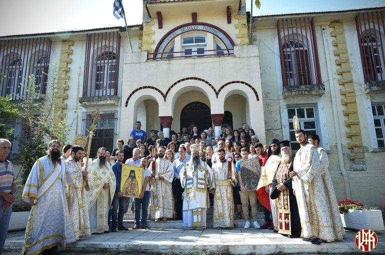 Αρχιερατική Θ. Λειτουργία στην Ι. Μονή Εισοδίων Θεοτόκου Πέτρας Ολύμπου (ΦΩΤΟ)