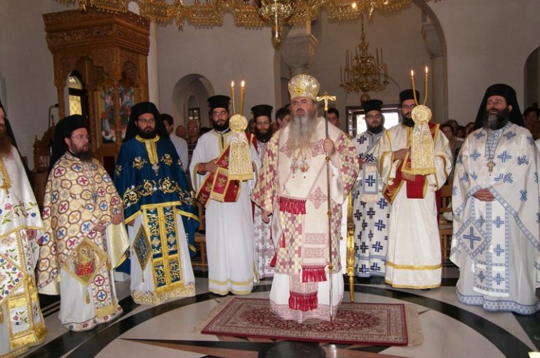 Ο Μητροπολίτης Καλαμαριάς ευλόγησε στην Ιερά Μονή Ταξιαρχών Πηλίου (ΦΩΤΟ)