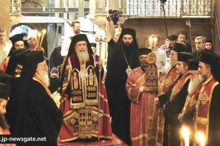 Δοξολογία για την 28η Οκτωβρίου στο Πατριαρχείο Ιεροσολύμων (ΦΩΤΟ – ΒΙΝΤΕΟ)