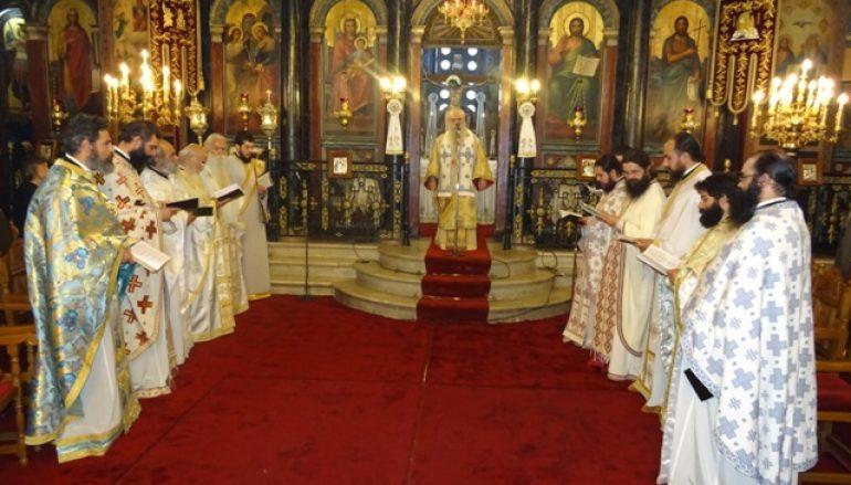 Η Αρχαιοτέρα Θεία Λειτουργία στον Μητροπολιτικό Ναό Σπάρτης (ΦΩΤΟ)