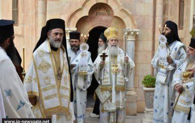 Η εορτή ανακομιδής του λειψάνου του Αγίου Σάββα του Ηγιασμένου (ΦΩΤΟ)