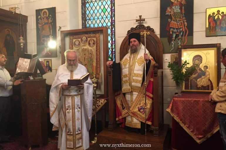 Η εορτή της επετείου του ΟΧΙ στην Αγία Φωτεινή της Σμύρνης (ΦΩΤΟ)