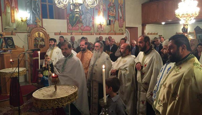 Η εορτή του Αγίου Δημητρίου στο Δ.Δ. Καράτουλα Ωλένης (ΦΩΤΟ)