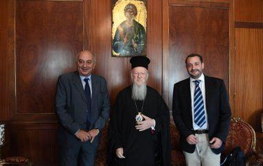 Ο Υφυπουργός Εξωτερικών της Ελλάδος στον Οικ. Πατριάρχη (ΦΩΤΟ)