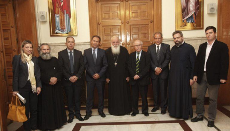 Ανανεώθηκε το σύμφωνο συνεργασίας μεταξύ Αρχιεπισκοπής και ΠΕΦ (ΦΩΤΟ)