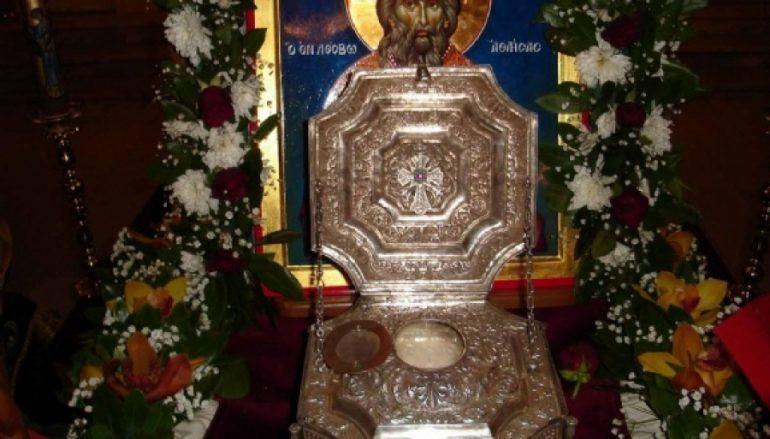 Τα Τρίκαλα θα υποδεχθούν λείψανα των Αγίων Ραφαήλ, Νικολάου και Ειρήνης