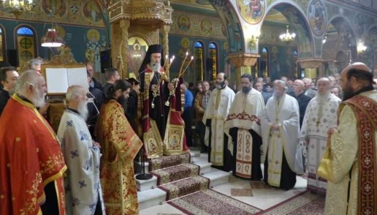 Εσπερινός Αγίου Δημητρίου Πολιούχου Ναυπάκτου (ΦΩΤΟ)