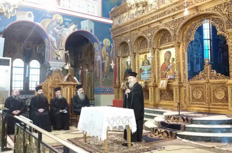 Ιερατική Σύναξη στην Μητρόπολη Αιτωλίας (ΦΩΤΟ)