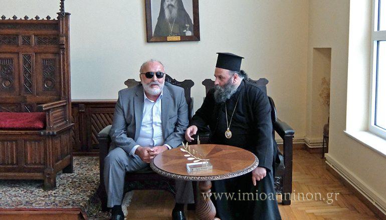Ο Υπουργός Εσωτερικών στον Μητροπολίτη Ιωαννίνων (ΦΩΤΟ)