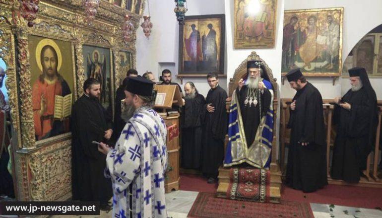 Η μνήμη της Αγίας Θέκλης στο Πατριαρχείο Ιεροσολύμων (ΦΩΤΟ-ΒΙΝΤΕΟ)