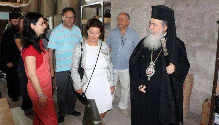 Συνάντηση των μελών της Steering Committee με τον Πατριάρχη Ιεροσλύμων(ΒΙΝΤΕΟ)