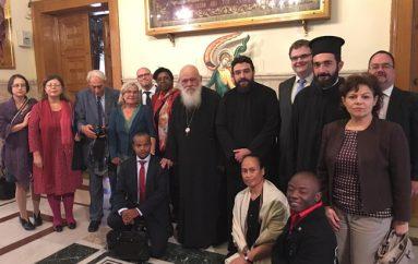 Συνάντηση Αρχιεπισκόπου με μέλη της Επιτροπής Εκκλησιών για τους Μετανάστες (ΦΩΤΟ)