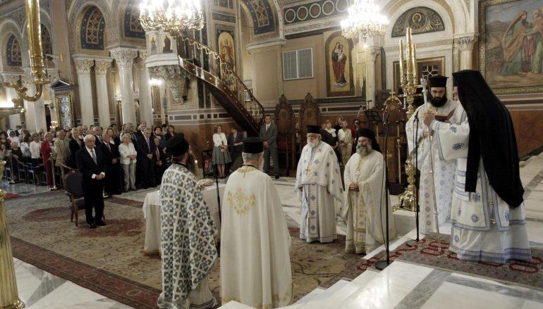 Η Αθήνα τίμησε τον Πολιούχο της Άγιο Διονύσιο τον Αρεοπαγίτη (ΦΩΤΟ)