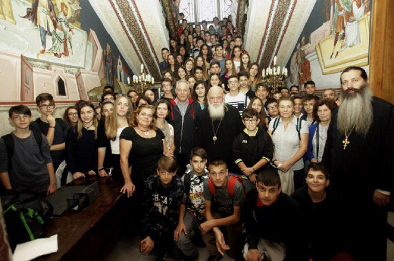 """Αρχιεπίσκοπος: """"Η Ελλάδα και η Ορθοδοξία δεν πωλούνται"""" (ΦΩΤΟ)"""