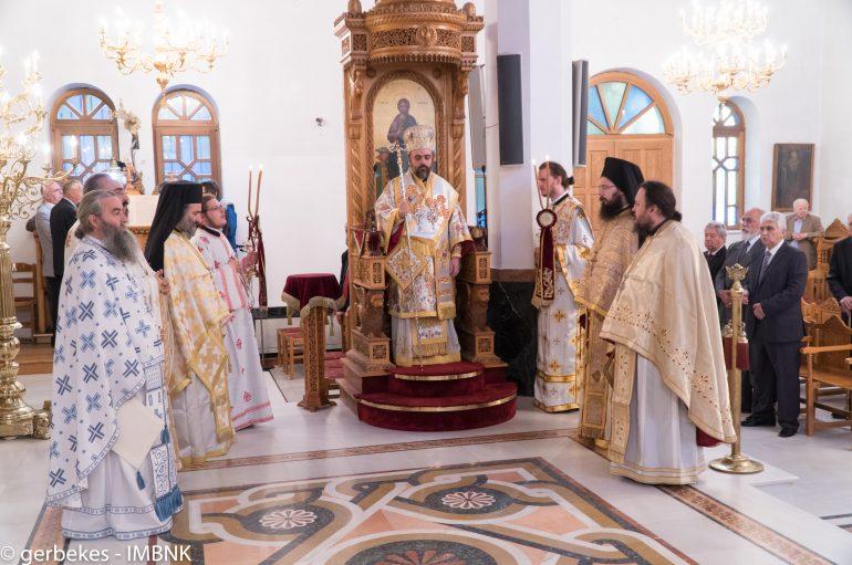 Επίσκεψη του Μητροπολίτη Σμύρνης στην Ι. Μ. Βεροίας (ΦΩΤΟ)