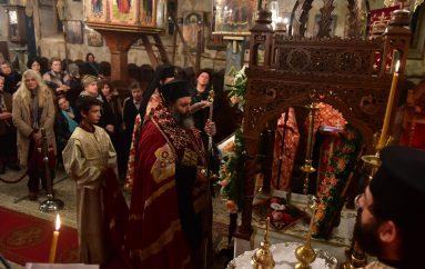 Τα Εγκώμια του Αγίου Δημητρίου από τον Μητροπολίτη Λαγκαδά (ΦΩΤΟ)