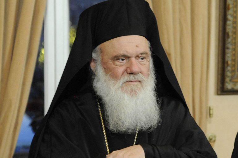 """Αρχιεπίσκοπος Ιερώνυμος: """"Την πατρίδα και την ορθοδοξία δεν θα σας την παραδώσουμε"""" (ΒΙΝΤΕΟ)"""