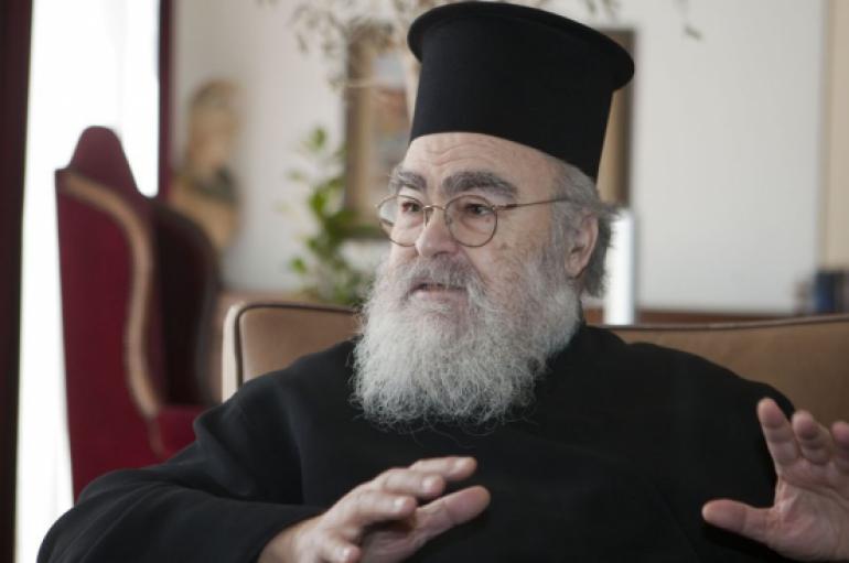 """Μητροπολίτης Δωδώνης: """"Συμφέρει την Εκκλησία ο χωρισμός…"""" (ΒΙΝΤΕΟ)"""