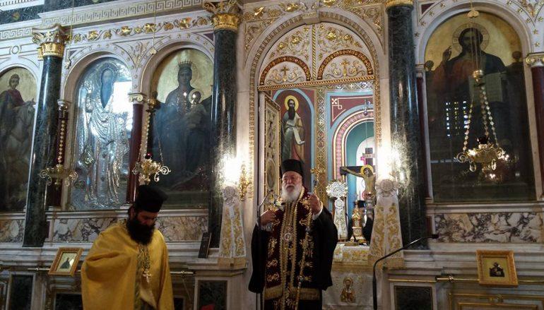 Η εορτή του Αγίου Αρτεμίου στην Τρίπολη (ΦΩΤΟ)