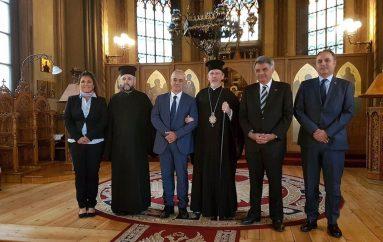 Επίσκεψη του Υφυπουργού Εξωτερικών Δ. Μάρδα στην Μητρόπολη Σουηδίας (ΦΩΤΟ)
