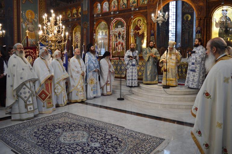 Ο εορτασμός της 28ης Οκτωβρίου στον Καθεδρικό Ι. Ναό Αγ. Σκέπης Εδέσσης (ΦΩΤΟ)