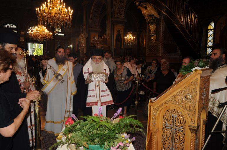 """Αργολίδος Νεκτάριος: """"Ο Άγιος Λουκάς είναι δώρο του Θεού στην εποχή μας"""" (ΦΩΤΟ-ΒΙΝΤΕΟ)"""