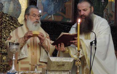 Η Θ. Λειτουργία του Αγ. Ιακώβου του Αδελφοθέου από τον Μητροπολίτη πρ. Άρτης (ΦΩΤΟ)