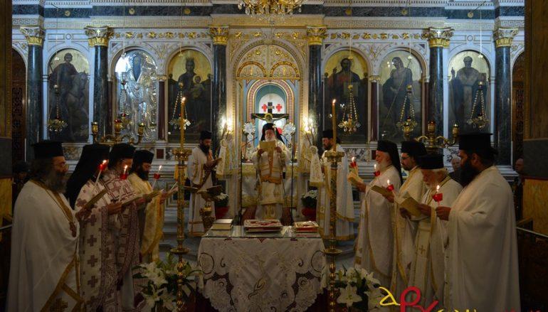 Η Πρωτοχριστιανική Θ. Λειτουργία του Αγ. Ιακώβου του Αδελφοθέου στην Τρίπολη (ΦΩΤΟ)
