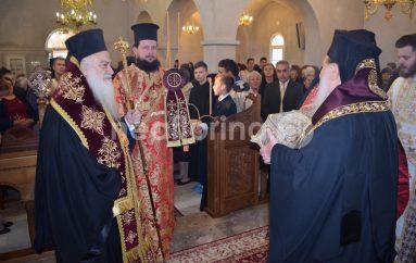 Η Φλώρινα υποδέχτηκε τεμάχιο του ιερού λειψάνου του Αγίου Δημητρίου (ΦΩΤΟ-ΒΙΝΤΕΟ)