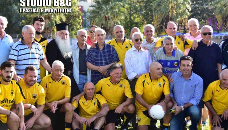 Ο Μητροπολίτης Αργολίδος σε φιλανθρωπικό αγώνα ποδοσφαίρου (ΦΩΤΟ – ΒΙΝΤΕΟ)