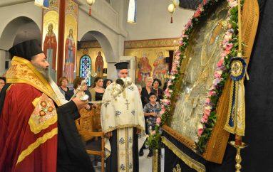 Ο εσπερινός της Παναγίας Γοργοϋπηκόου στην Ι. Μ. Λαγκαδά (ΦΩΤΟ)