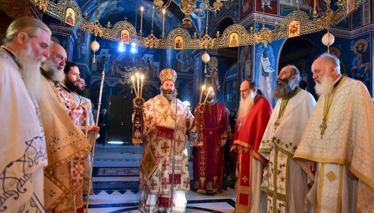 Η εορτή των Αγίων Κυπριανού και Ιουστίνης στην Ι Μ. Λαγκαδά (ΦΩΤΟ)