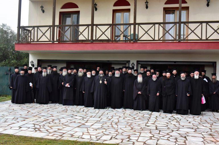 Γενική Ιερατική Σύναξη των Κληρικών της Μητροπόλεως Λαγκαδά (ΦΩΤΟ)