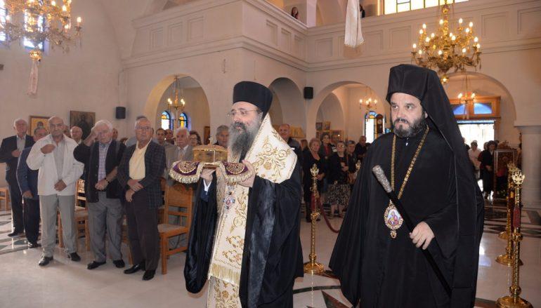 Λαμπρά Εγκαίνια Ιερού Ναού από τον Μητροπολίτη Πατρών (ΦΩΤΟ)
