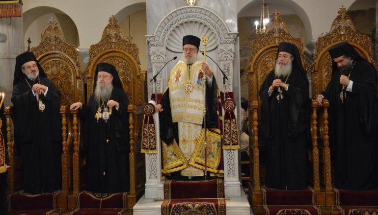 Πολυαρχιερατικός Εσπερινός για τον Άγιο Δημήτριο στη Θεσσαλονίκη (ΦΩΤΟ)