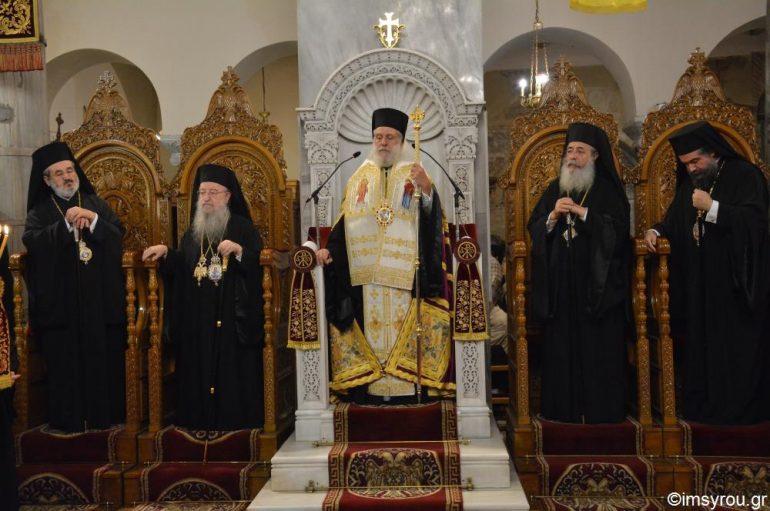 Πολυαρχιερατικός Εσπερινός για τον Άγιο Δημήτριο στη Θεσσαλονίκη (ΦΩΤΟ) 9625f0872ee