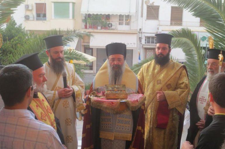 Υποδοχή Ι. Λειψάνου του Αγ. Αποστόλου Ανδρέα στον Αγ. Δημήτριο Αττικής (ΦΩΤΟ)
