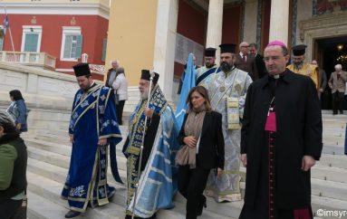 Η Ερμούπολη τίμησε την Επέτειο του ΟΧΙ (ΦΩΤΟ)