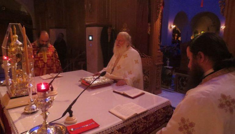 Αγιορείτικη Αγρυπνία στον Άγιο Δημήτριο Μπραχαμίου (ΦΩΤΟ)