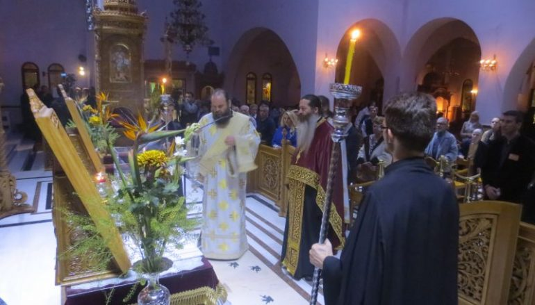 Αγρυπνία στον Ι. Ναό Αγίου Δημητρίου Μπραχαμίου (ΦΩΤΟ)