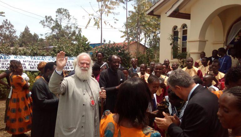 Ο Πατριάρχης Αλεξανδρείας στη Μπουκόμπα της Τανζανίας (ΦΩΤΟ)